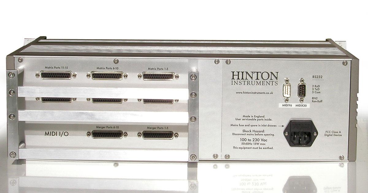 HINTON INSTRUMENTS: News - 2010-11-13 - Customised 30 x 30 MIDI